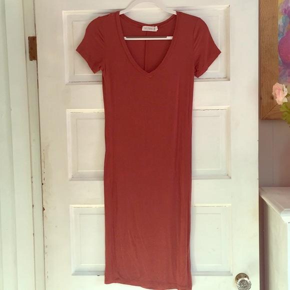 19653afd5247d The Hanger Dresses | Burnt Orange Bodycon Dress | Poshmark